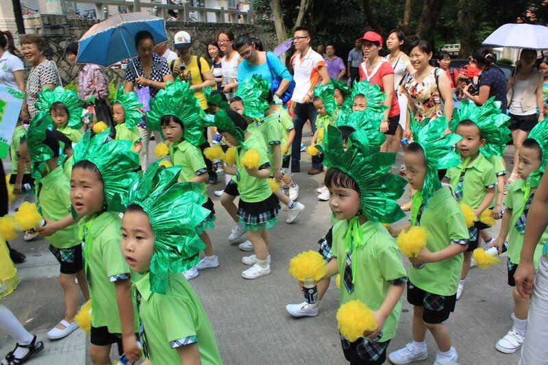День защиты детей на субтропическом острове Сямэнь, Юго-Восток Китая, фото 16