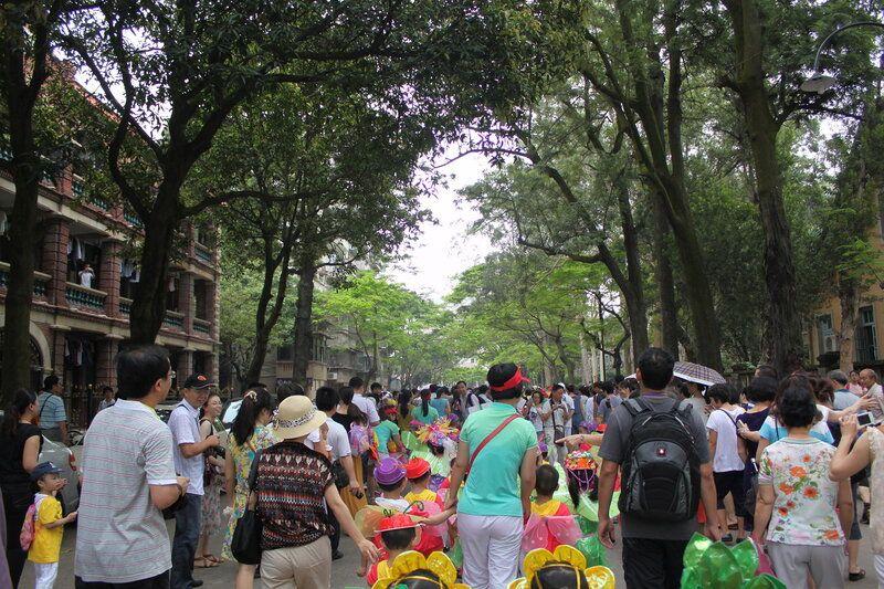 День защиты детей на субтропическом острове Сямэнь, Юго-Восток Китая, фото 20