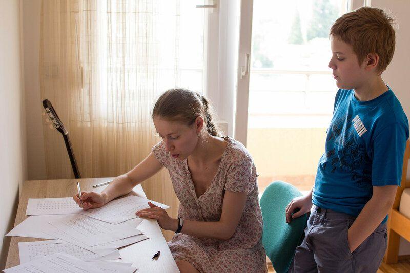 Один мой летний день в Подгорице, работа, дети, муж, фото 47
