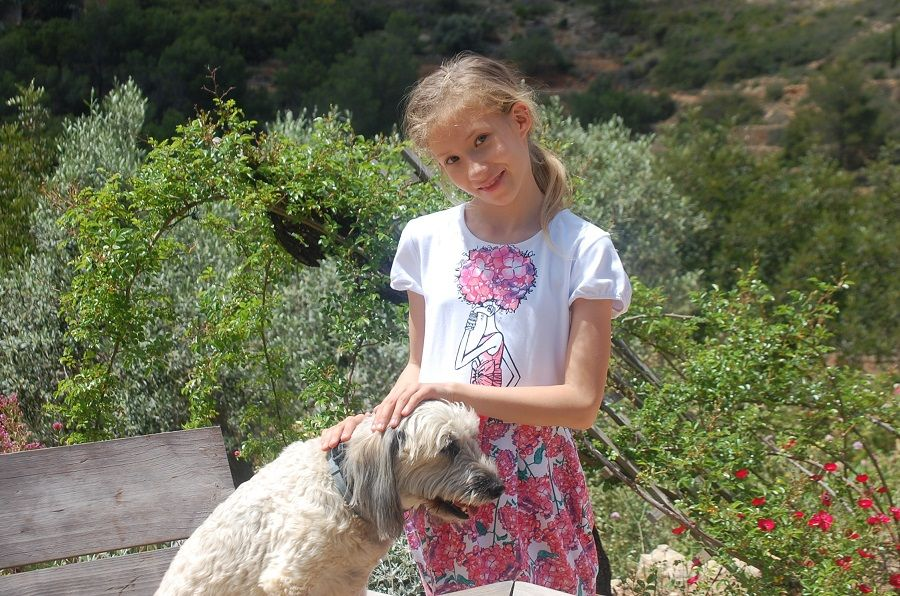 Один мой летний день в цветочном саду, вся семья в сборе, Испания, фото 20
