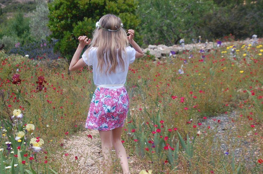 Один мой летний день в цветочном саду, вся семья в сборе, Испания, фото 22