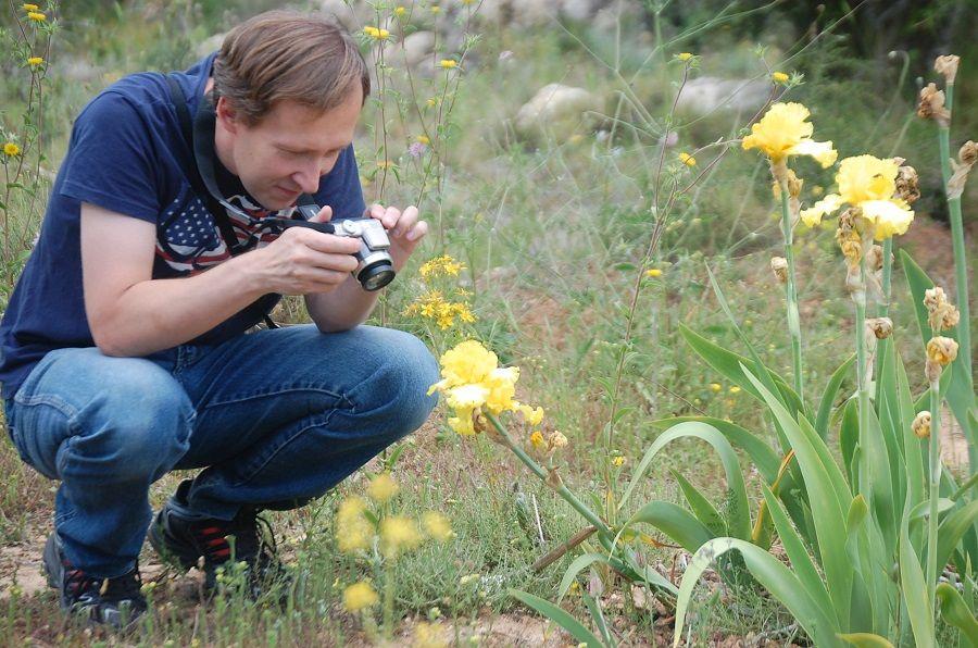 Один мой летний день в цветочном саду, вся семья в сборе, Испания, фото 26