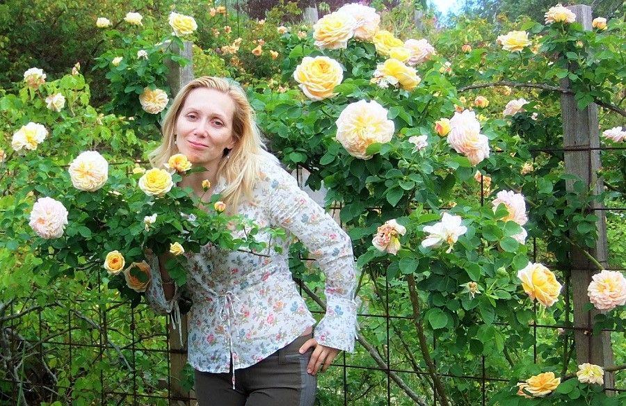 Один мой летний день в цветочном саду, вся семья в сборе, Испания, фото 27