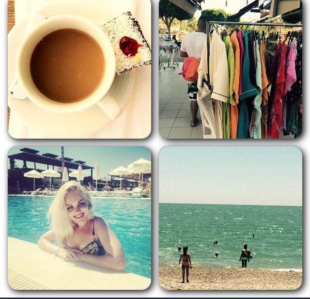 Один мой летний день в отпуске, Турция, много селфи
