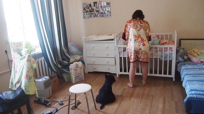 Один мой день в декрете, будут фото жилища, родственников, собаки, ребенка, города, еды и меня, фото 47