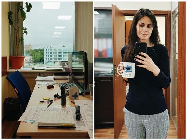 Один рабочий день москвички, я покажу вам свою работу, дом, котика, фото 13