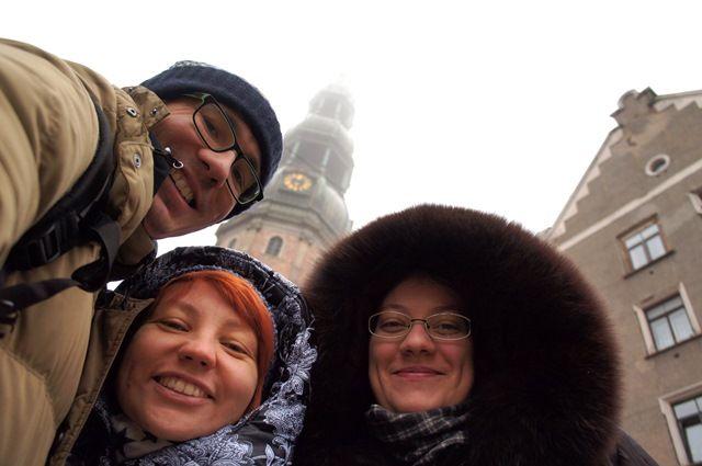 Один мой день в Латвии, я покажу вам зимнею Ригу, фото 13